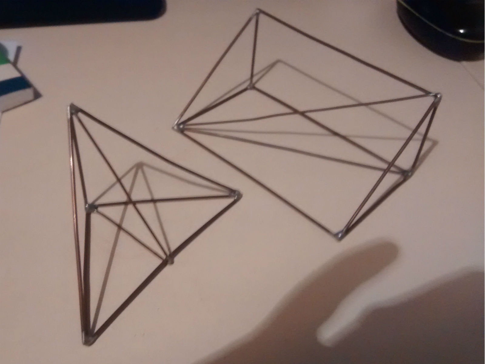 Wire models for 3D Pythagoras Th'm and trigonometry ...